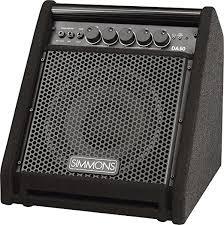simmons amp. amazon.com: simmons da50 electronic drum set monitor: musical instruments amp