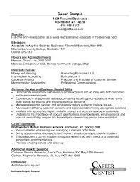 Sample Resume Of Customer Sales Representative Valid Objective For