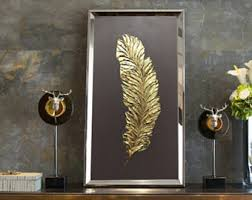 gold abstract art oil painting decorative interior panel wall decor golden feather wall art canvas wall on gold leaf feather wall art with ballerina painting ballet painting gold painting girl