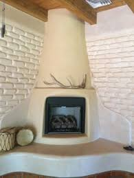 Kiva Fireplace James Pearson Artist American Clay Plaster ...