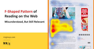 F Shaped Pattern Of Reading On The Web Misunderstood But Still