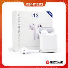 Tai Nghe Bluetooth không dây i12 TWS - Tai nghe Bluetooth nhét Tai