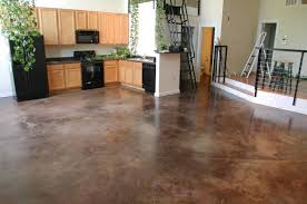 concrete floor home. Concrete Kitchen Floor Finish Home