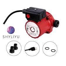 SHYLIYU 115V ev otomatik sıcak hidrofor su pompası 46/67/93w 3 speed duş  ısıtıcı basınçlı sirkülasyon pompası artırma|Pompalar