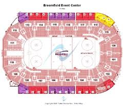 First Bank Center Seating Chart 9 General Admission Floor Plan 1st Bank Center Seating