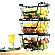 countertop fruit basket polished silver aluminum 3 tiered rectangular fruit stand countertop fruit basket stand