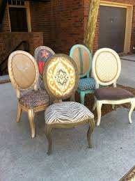 printed dining room chairs far fetched awesome old wood and best 25 upholstered decorating ideas 39