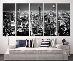 chicago wall art trend in interior decor home with chicago wall art