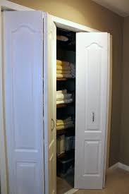 Closet ~ Accordion Doors For Closets How To Change Sliding To ...