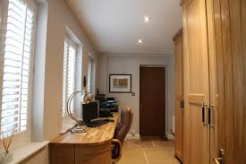 home office study. Fitted Home Office In Oak Study T