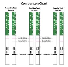 Urine Test Strips Results Chart Bfp Ovulation Test Strips