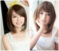 Asian Hairstyles With Side Bangs Korean Layered Hairstyles With