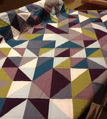 A Beautiful Collection of Half Square Triangle Quilt Patterns ... & Love the color combo on thie HST quilt! Adamdwight.com