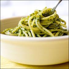 Résultats de recherche d'images pour «pesto spaghetti»