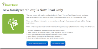 The Ancestry Insider New Familysearch Now Read Only