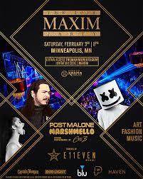 maxim super bowl lii party invite copy