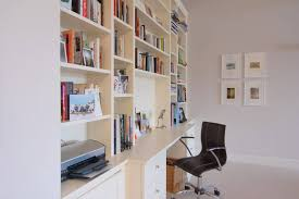 bespoke office desks. Bespoke Home Office With Cupboards And Drawers Desks