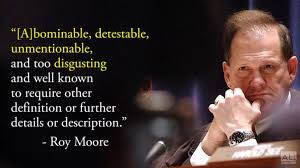 Roy Moore Quotes Delectable Alabama's Largest Paper Issues Blistering Attack On Roy Moore Look