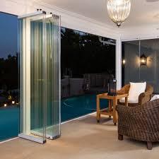 sunflex sf25 frameless glass stacking doors