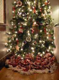 christmas tree blanket. Fine Tree This Blanket Does The Job Of A Real U0027tree Skirtu0027 Just As Well Store  Bought One You Could Also Use Sheet Sheepskin Small Rug Spare Fabric  Inside Christmas Tree Blanket I