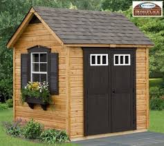 wooden garden shed home office. amazoncom legacy 8 x 6 wood garden and storage shed building kit wooden home office
