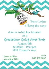 Going Away Party Invitations New Selections Winter 2019