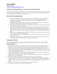 Medical Recruiter Resume Example Awesome Collection Of Human