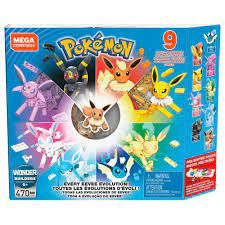 Mega Construx Pokemon Every Eevee Evolution