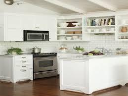 White Kitchen Backsplash Subway Tiles Kitchen Painted Subway Tile Kitchen Backsplash