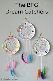 Dream Catcher Party Plates Inspiration The BFG Paper Plate Dream Catchers Kids Craft The Suburban Mom