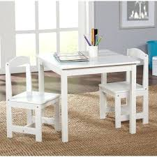 gorgeous kids table and chair set simple living white 3 piece kids table chair set childrens