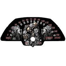 2018 suzuki m109r. delighful suzuki speedometer face plate for suzuki m109r mph or kmh 2006 2018 2018 suzuki m109r