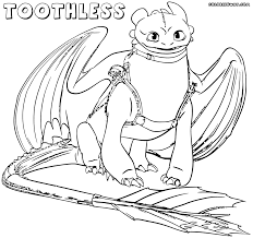Small Picture Toothless Coloring Pages glumme