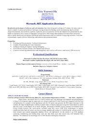 standard resume formats