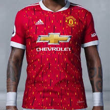 Is predominantly red with white logos. Manchester United 2020 21 Home And Away Kits Apparently Leaked The Busby Babe