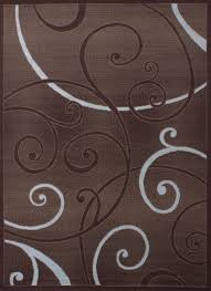 united weavers dallas bangles chocolate accent rug 1 11