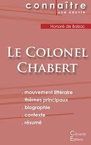 Le Colonel Chabert Resumé Complet Pdf