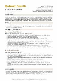 Service Coordinator Resumes Service Coordinator Resume Samples Qwikresume
