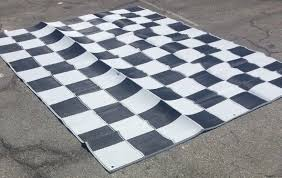 rv patio awning mat reversible outdoor rug 9x12 black silver combined is calculated by the calculator you must use the