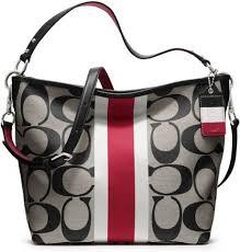 Hamptons Weekend Signature Stripe Shoulder Bag 110