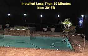 pool enclosure lighting. clip on solar lanai lights pool enclosure lighting l