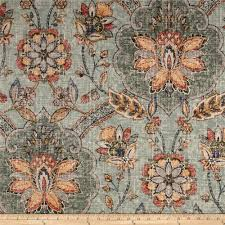Persian Design Fabric P Kaufmann Andalucia Persian Blue