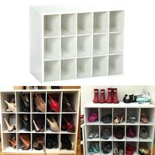stackable closet unit organizer shoes hobbies media office supplies white washer dryer in master