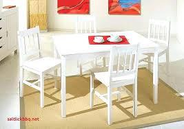 Table De Cuisine Blanche Avec Chaise Inspiration Cuisine