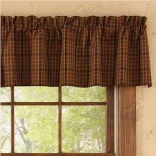 Primitive Country Kitchen Curtains Country Tier Curtains Primitive Spice 72 X 24