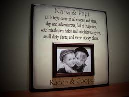 Grandparents Picture Frame Little Boys Come In All Shapes And Best Gift For Grandparents Christmas