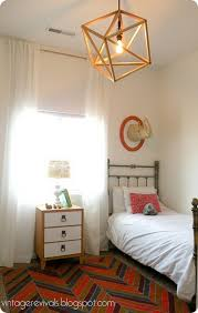diy openwork cube pendant light