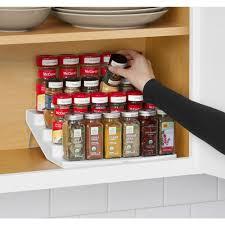 Tier Spice Rack Youcopia Spicesteps 4 Tier Cabinet Spice Rack Organizer 01241 01