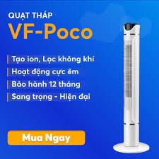 Quạt tháp Poco - Quạt điều hòa không khí - Siêu Mát - Gọn Nhẹ Dễ Dàng Di  Chuyển