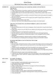 Business Manager Sample Resume Strategy Business Manager Resume Samples Velvet Jobs 4